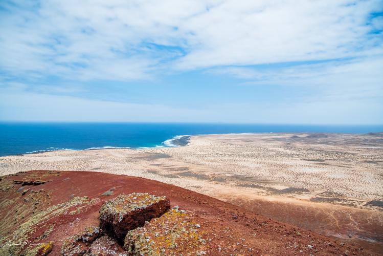 paysage île graciosa lanzarote