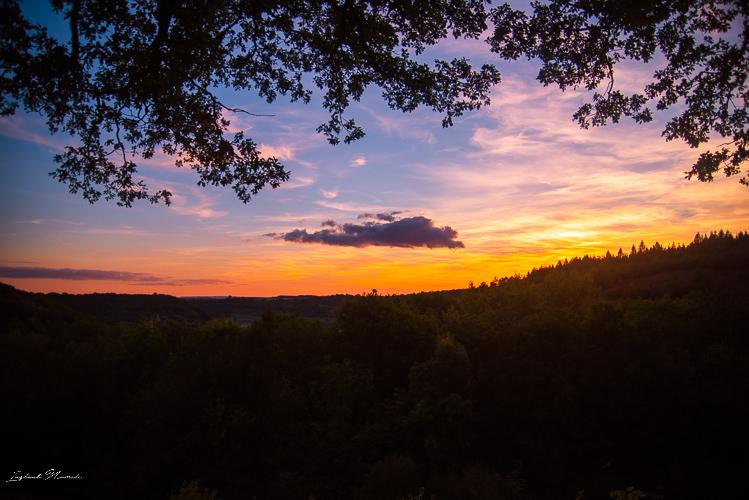 coucher de soleil montenach