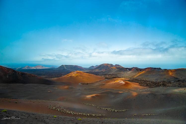 paysage timanfaya lanzarote