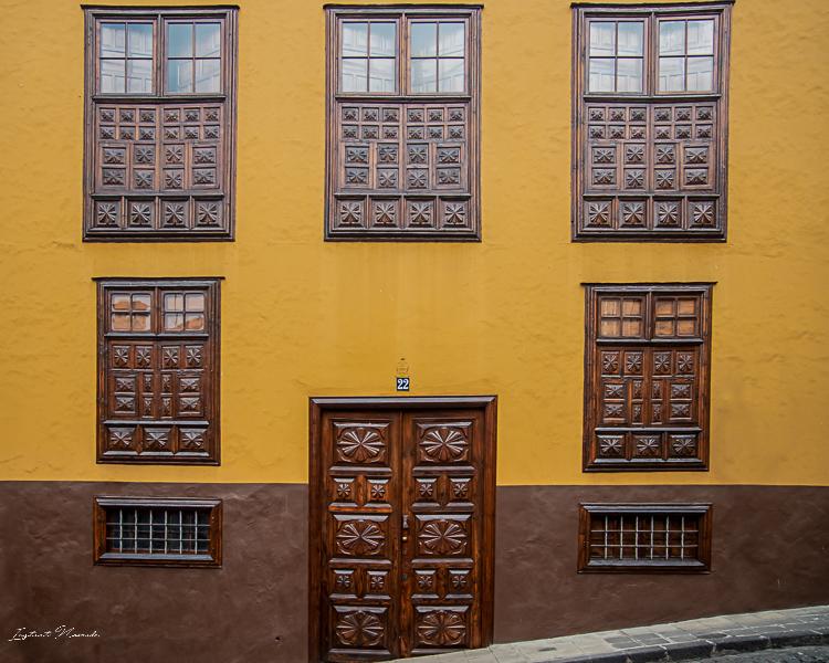 façade villa la orotava