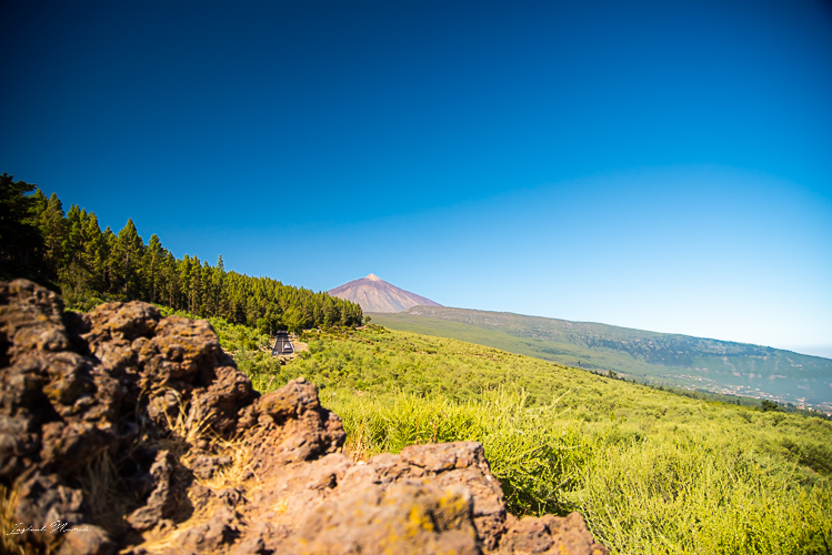 route panoramique teide