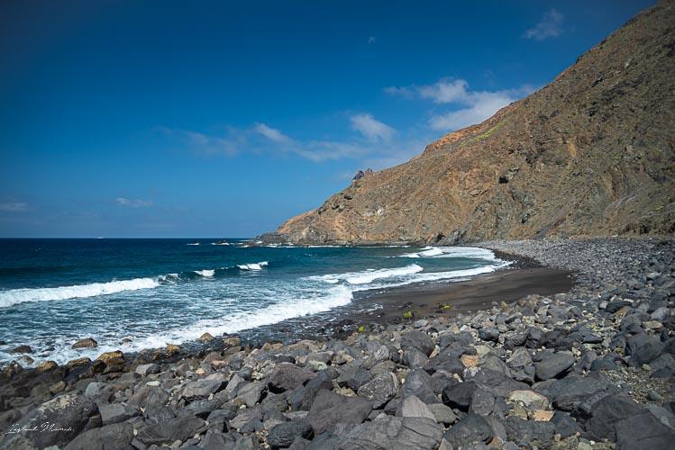 argamul plage isolee gomera