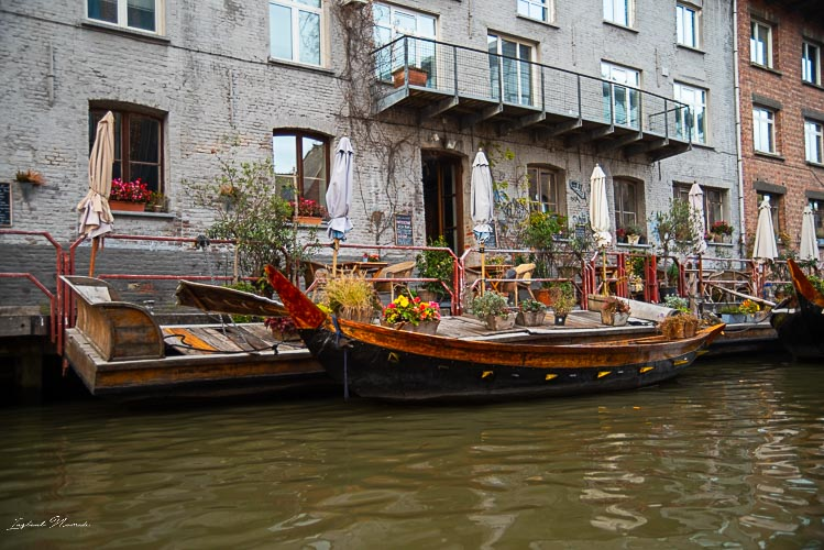 balade bateau canal gand