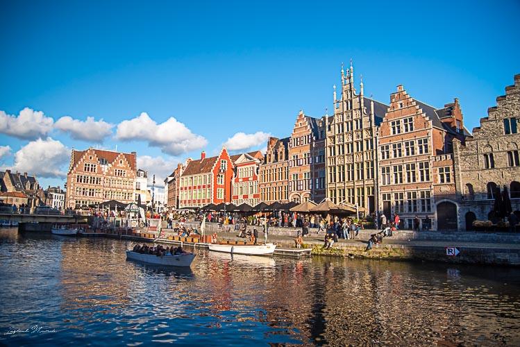 canal centre historique gand