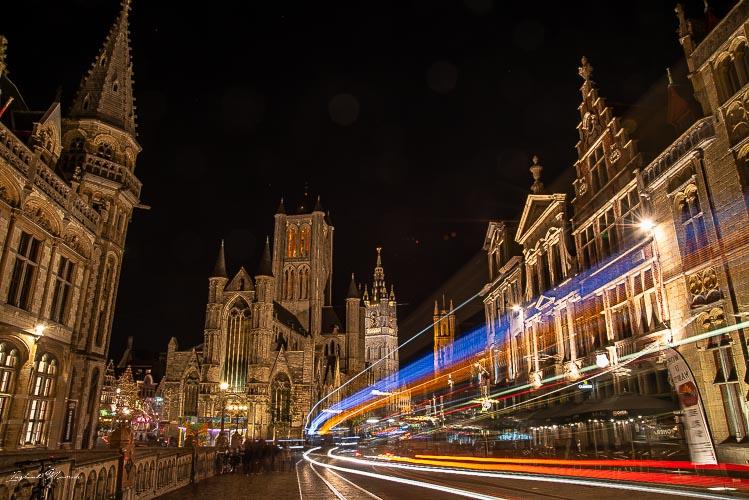 centre historique gand nuit
