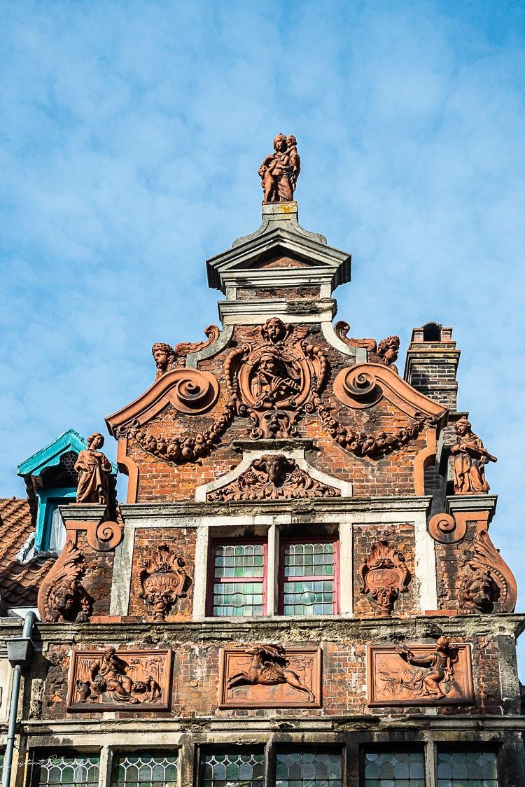 façade gand typique