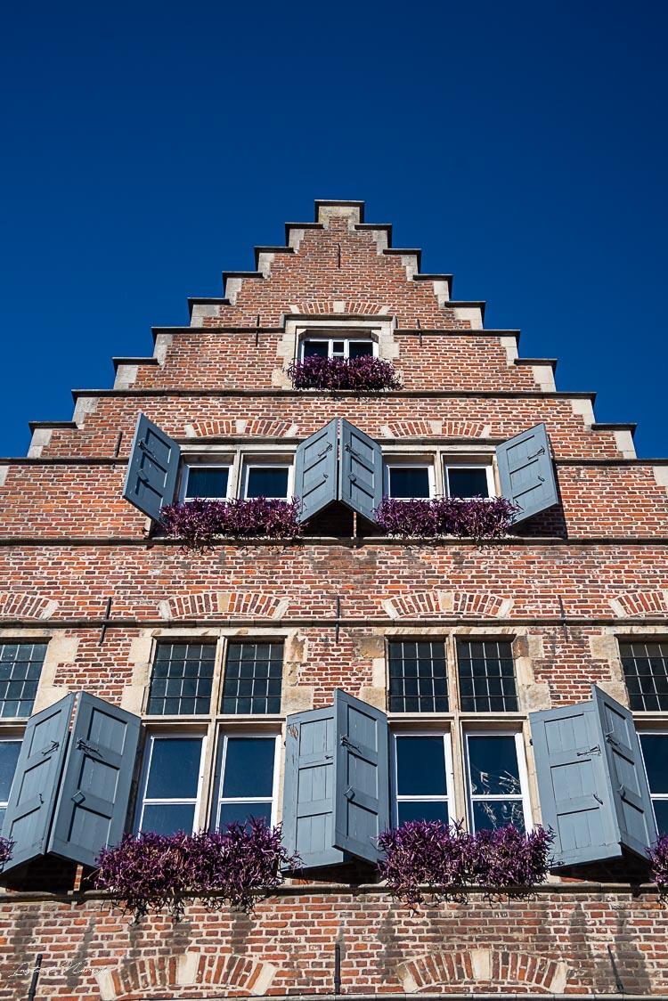 façade ville gand