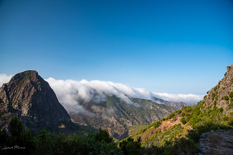 paysage gomera relief