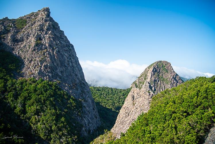 paysage los roques gomera