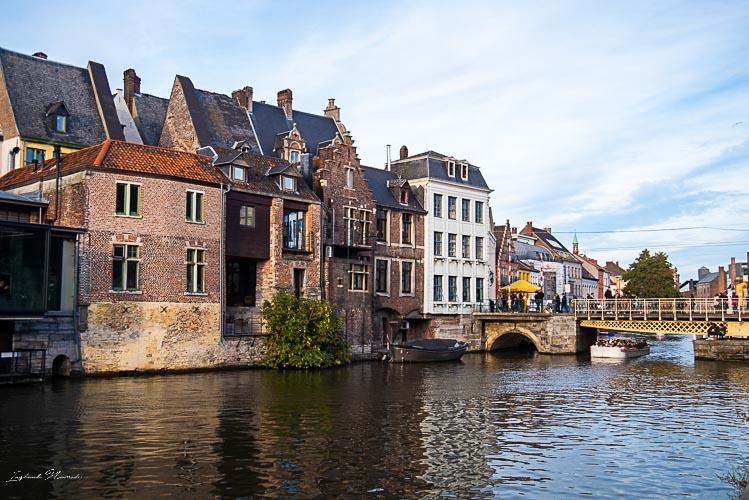 promenade pietionne canal gand