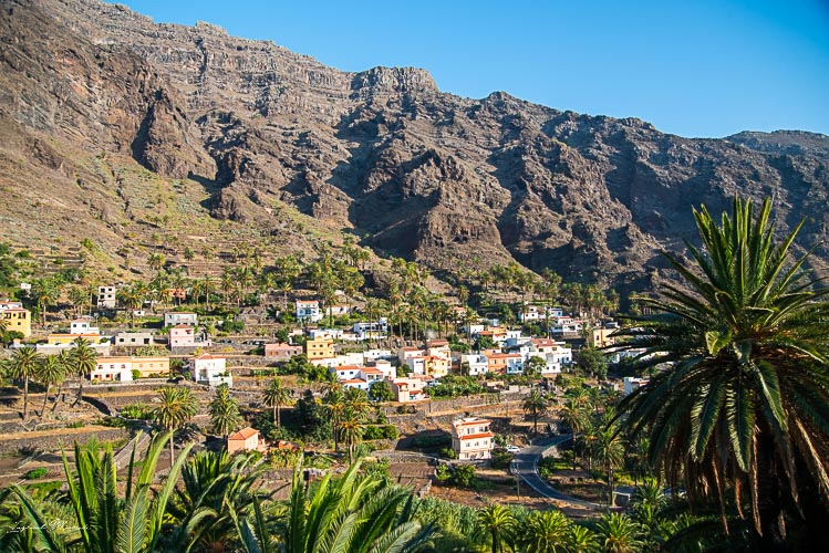 vallehermoso gomera village