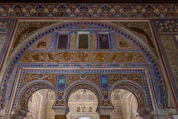 arabesque alcazar seville