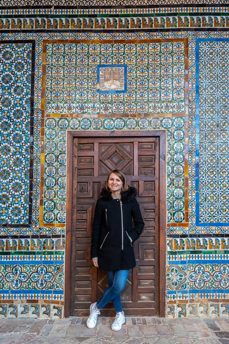 mosaique casa de pilatos seville