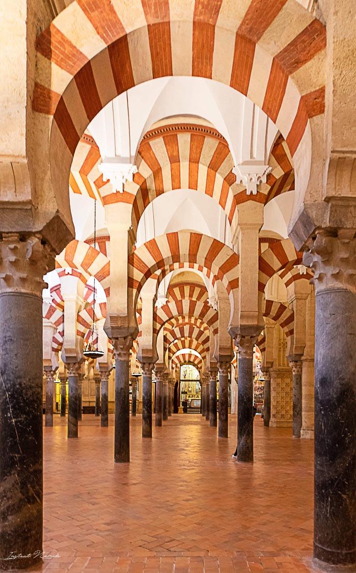 colonne mezquita cordoue