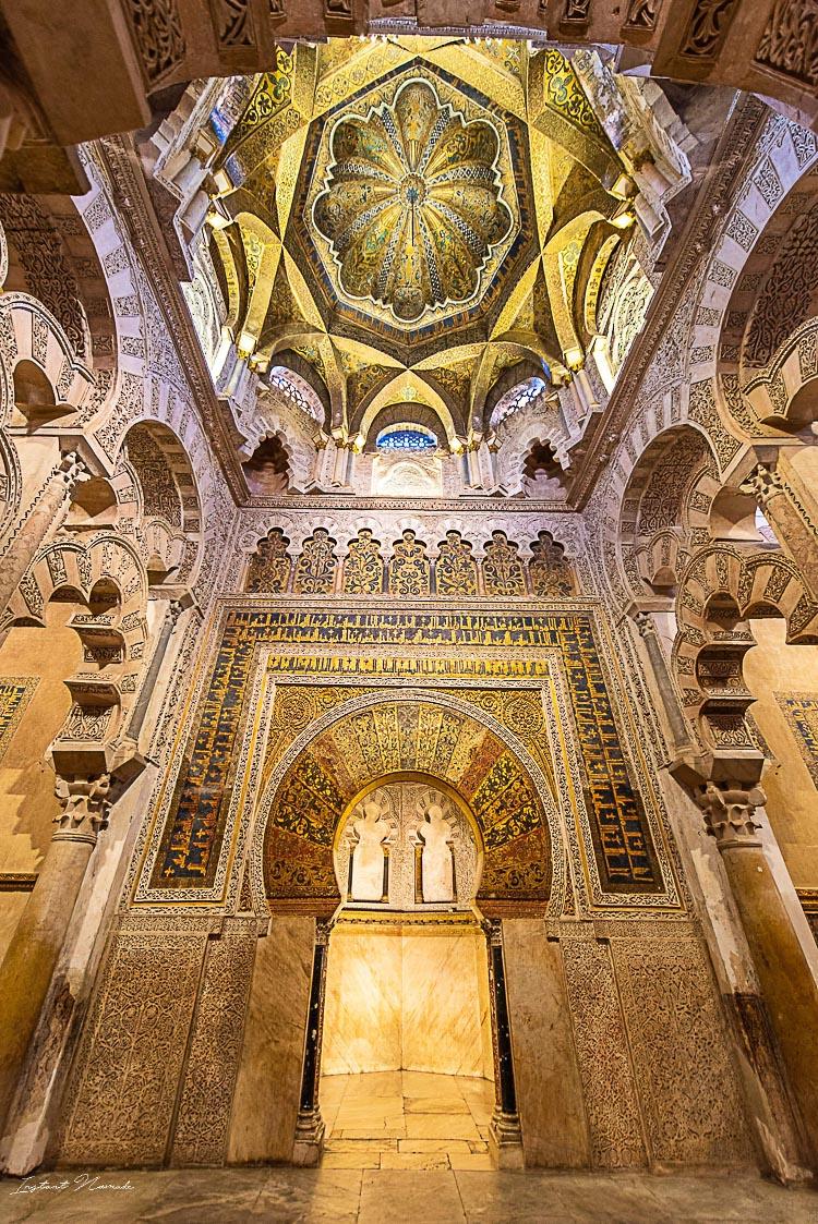 plafond mezquita cordoue
