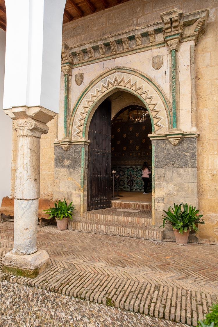 portail chapelle san bartholomé cordoue