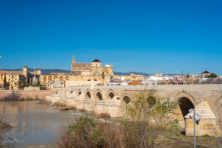 vue pont romain cordoue