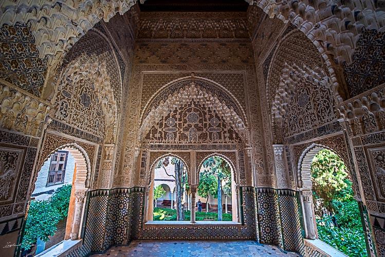 details fenetre alhambra