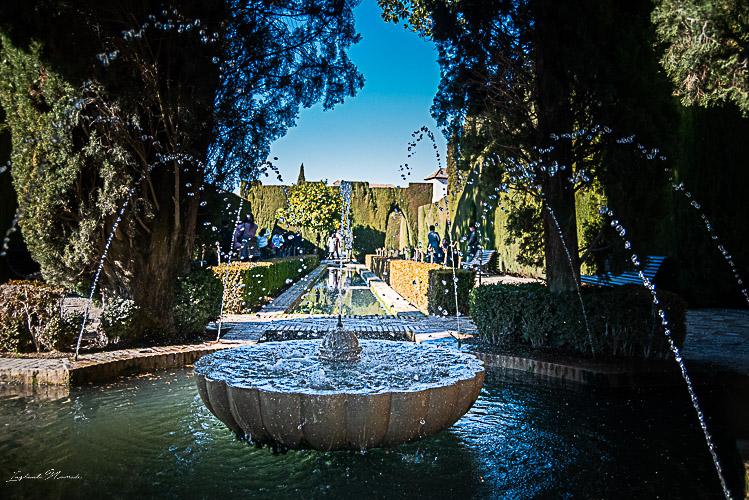 jardins alhambra grenade