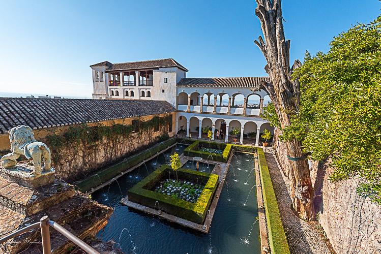 palais generalife alhambra