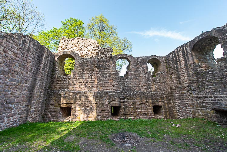 ruines chateau hagueneck