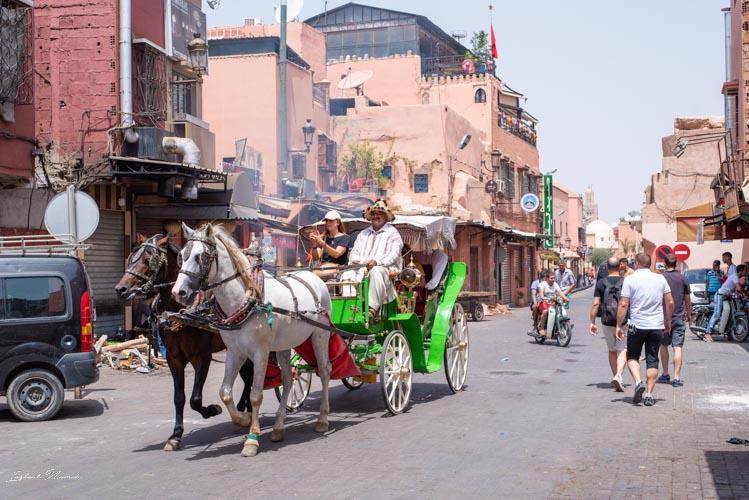 balade caleche marrakech
