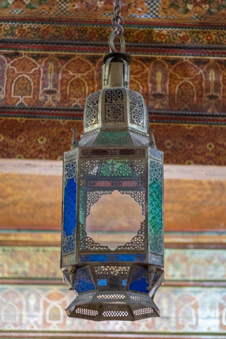 détail lampe marrakech