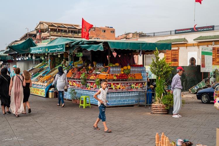 marché place jemaa el fna marrakech