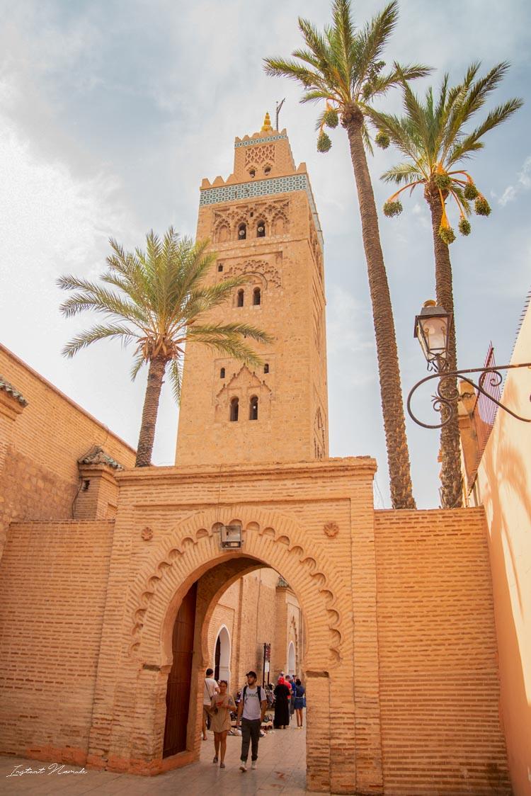 minaret marrakech