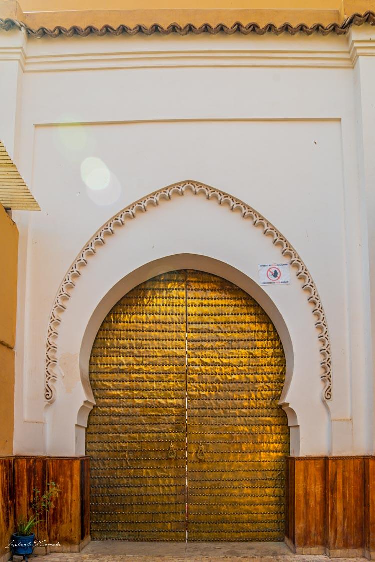 porte dorée marrakech