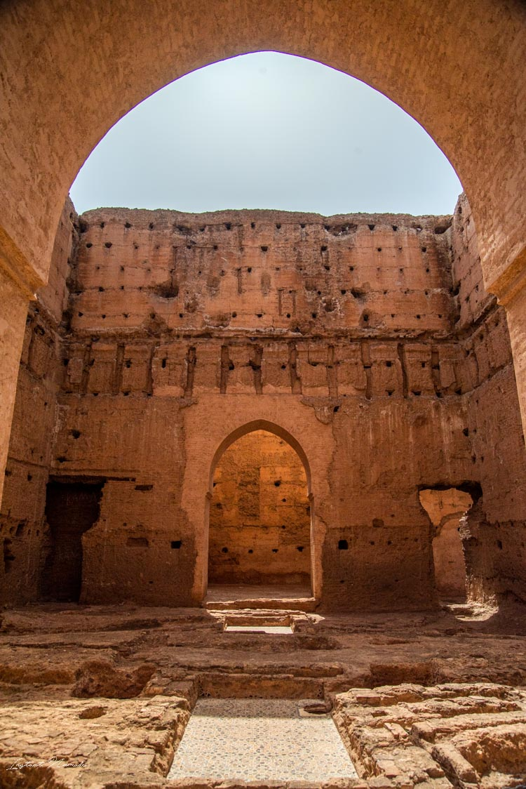 porte palais el badi marrakech