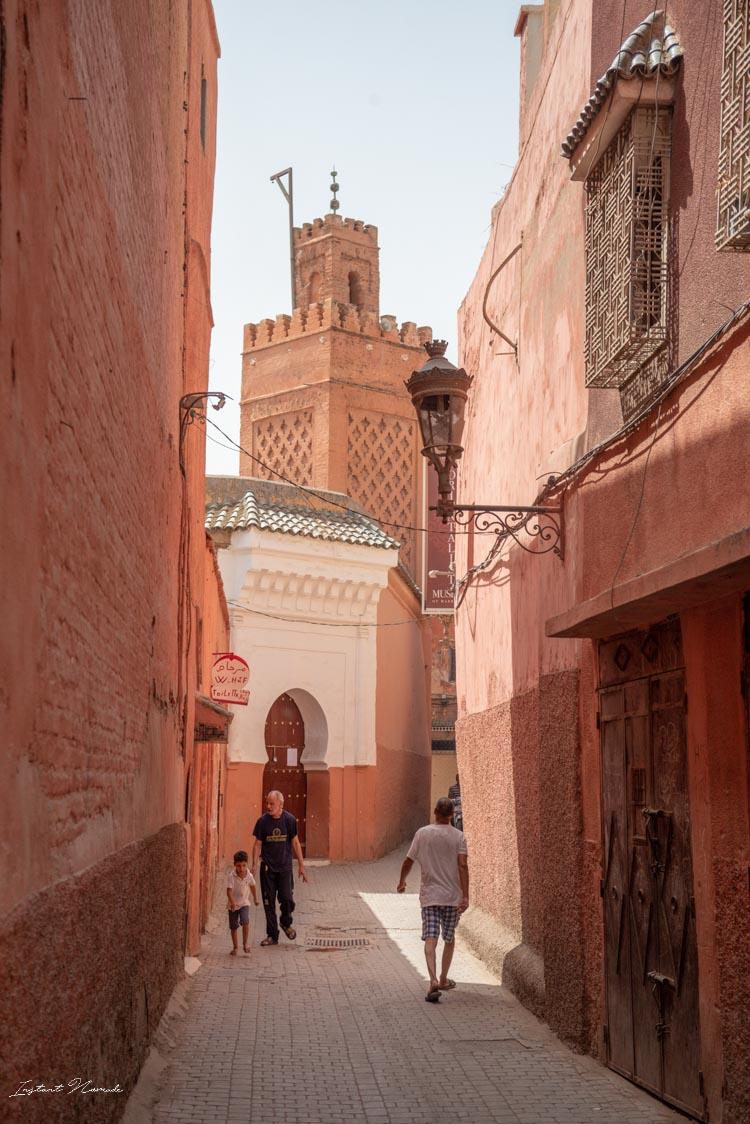 rue ville marrakech