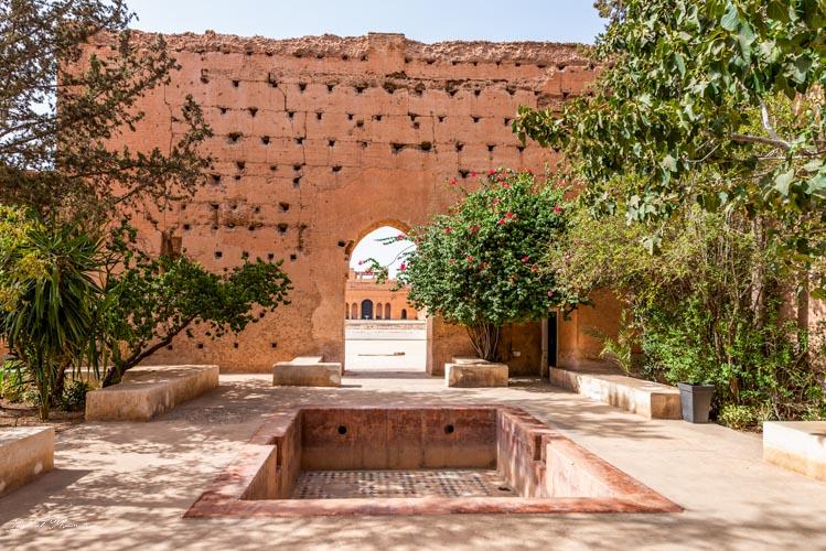 ruines palais el badi marrakech