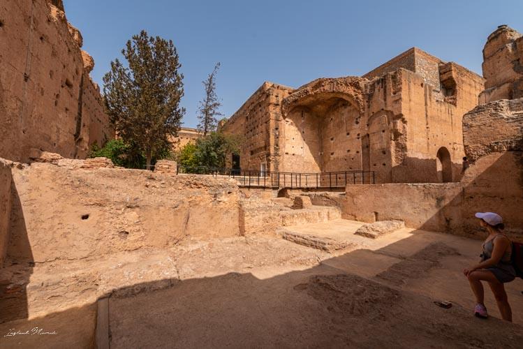 visite palais el badi marrakech