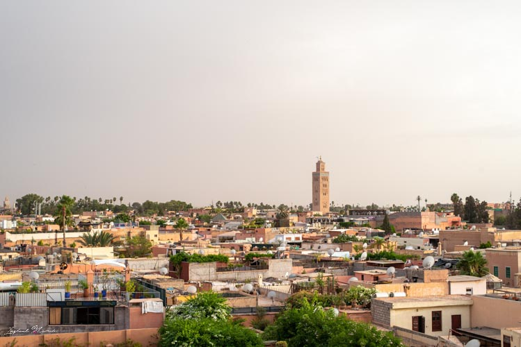 vue ville marrakech