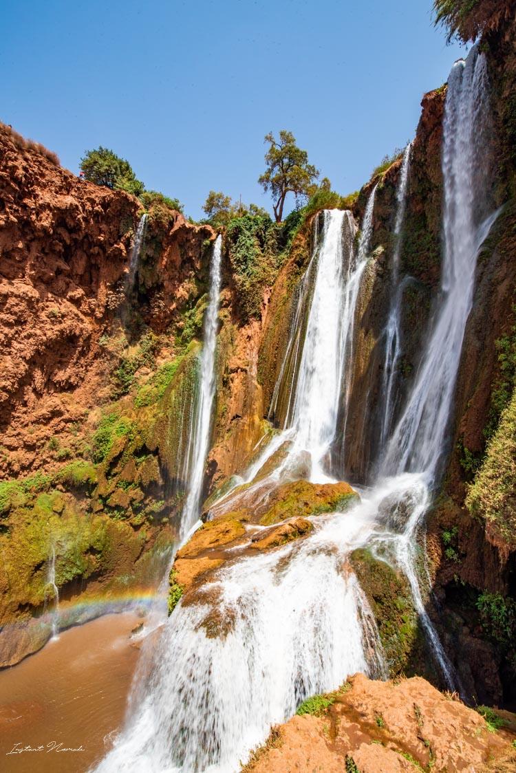 chute eau cascades ouzoud