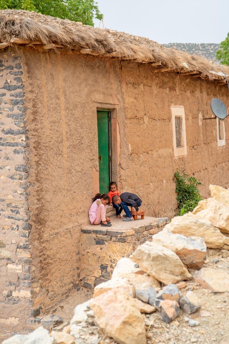 enfant village berbère