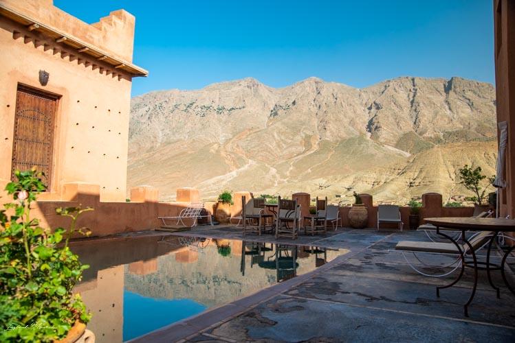 piscine kasbah mgoun maroc