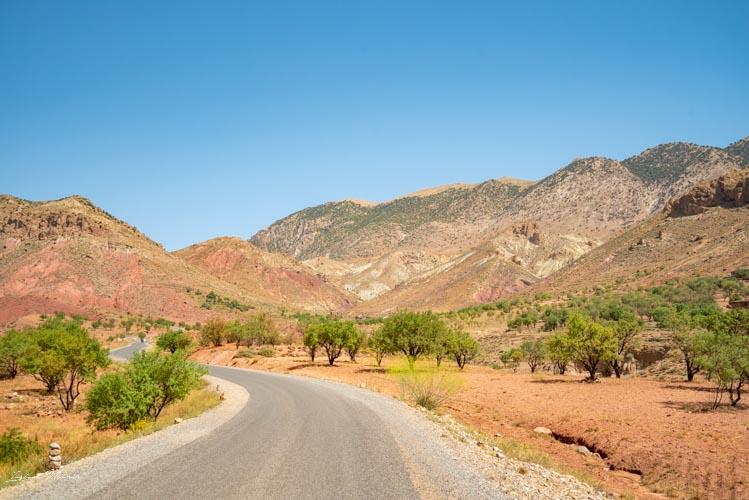 route magnifique maroc