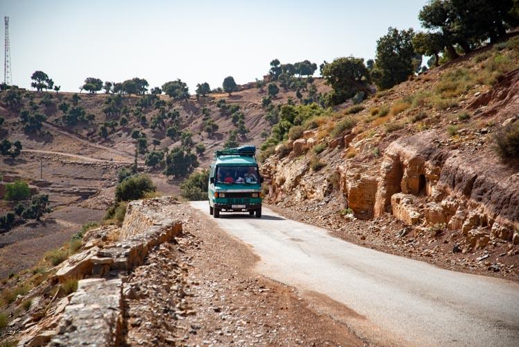 route pittoresque maroc