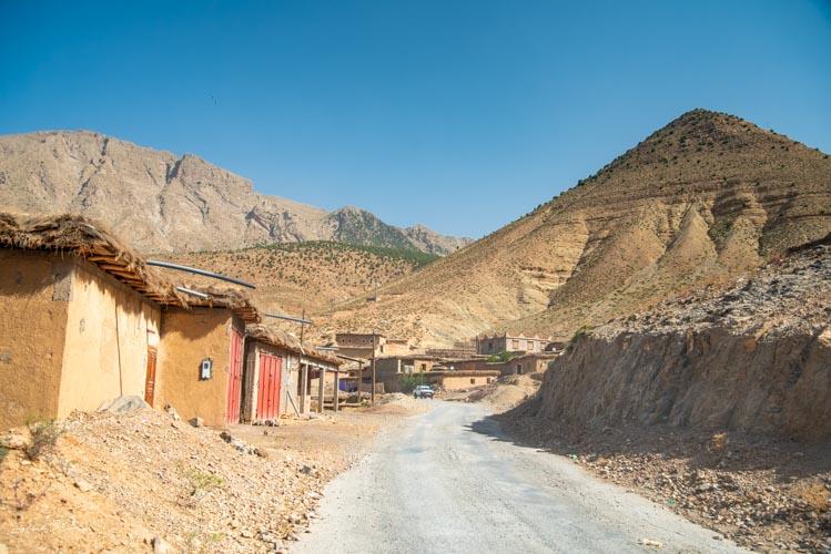 village berbère maroc
