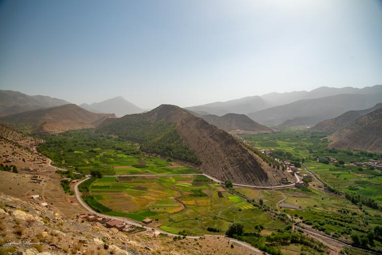 vue vallée heureuse maroc