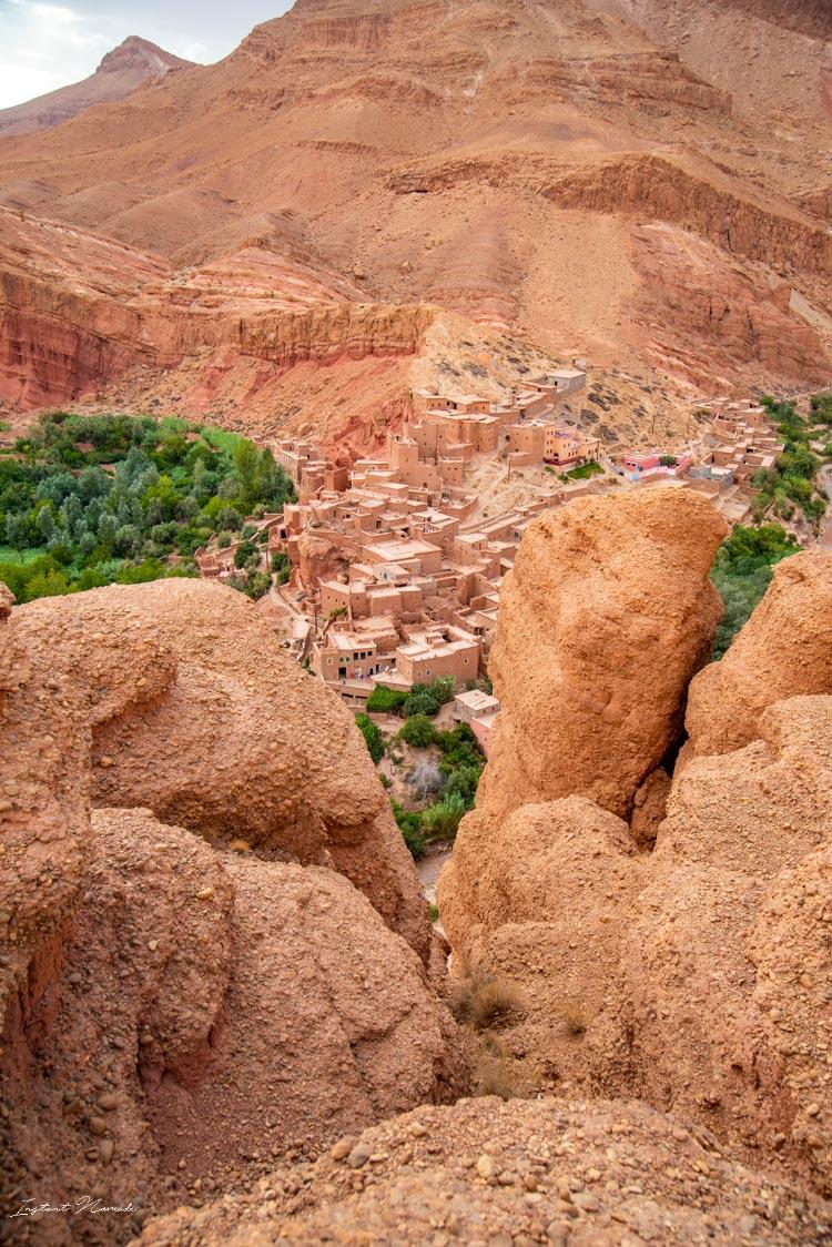 canyon vallée des roses maroc