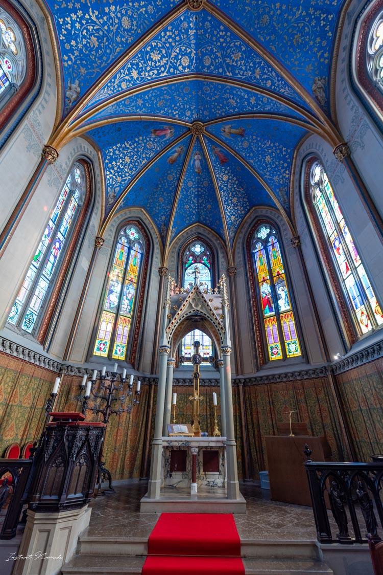 chateau hohenzollern interieur chapelle