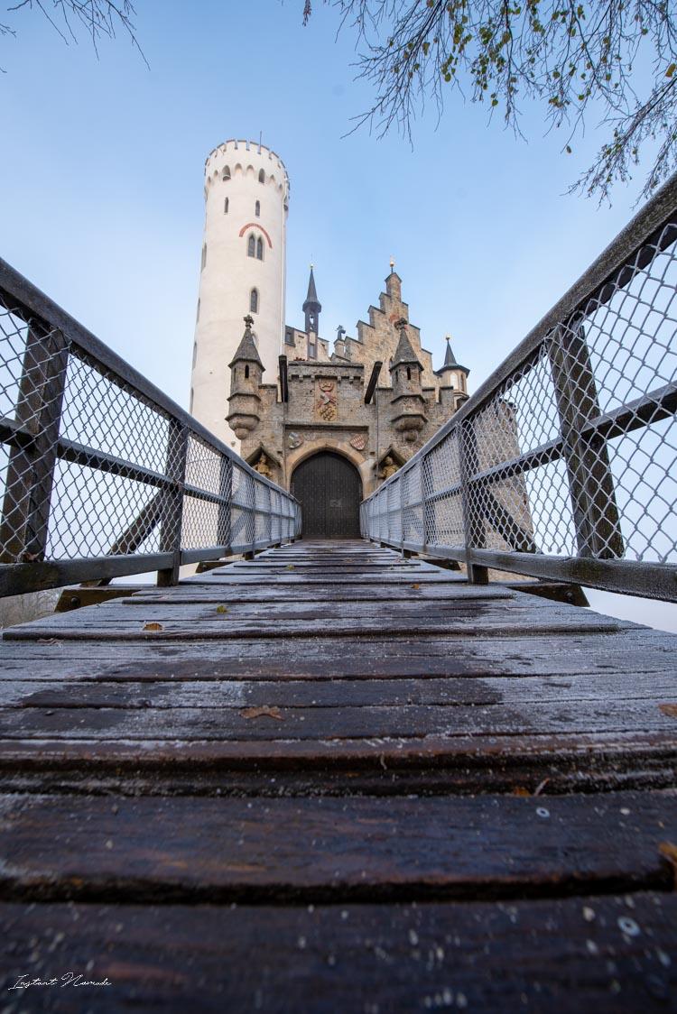 chateau lichtenstein entrée donjon