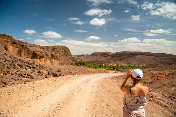 chemin oasis fint maroc
