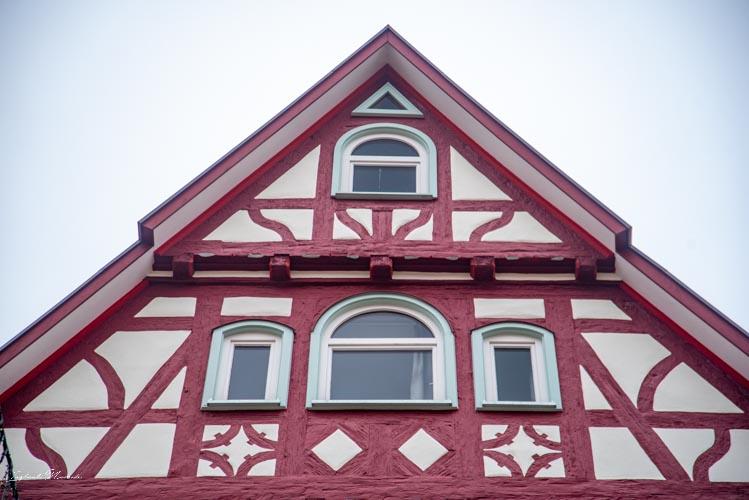 details facade maison calw