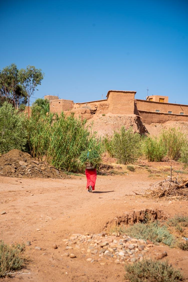marocaine ait ben haddou