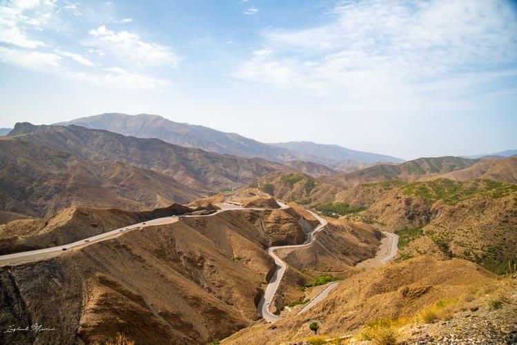 route tizi n tichka maroc