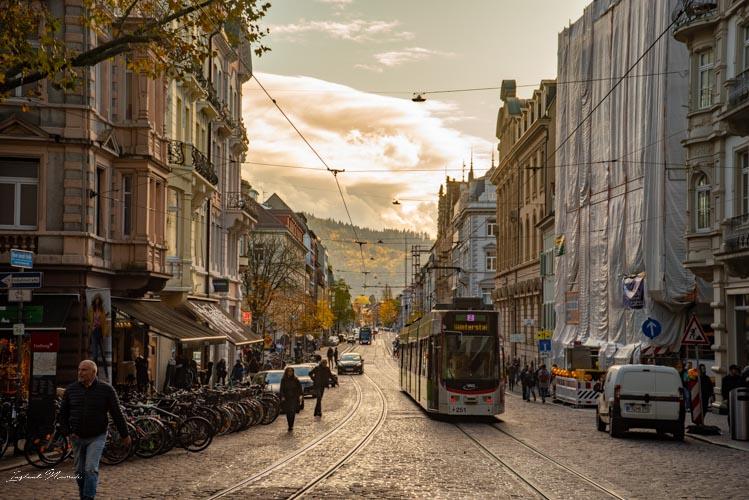 tramway frisbourg en brisgau